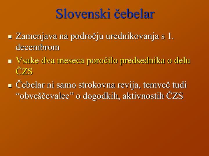Slovenski čebelar