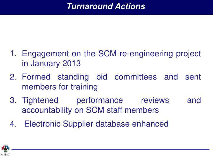 Turnaround Actions