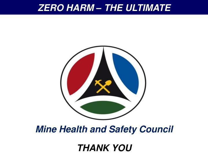 ZERO HARM – THE ULTIMATE