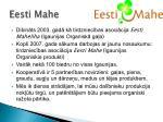 eesti mahe