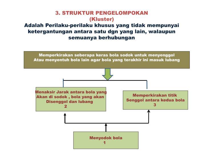 3. STRUKTUR PENGELOMPOKAN