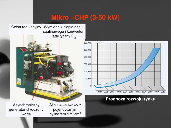 Mikro –CHP (3-50 kW)