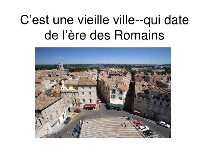 Ppt Arles Et Sa R Gion Powerpoint Presentation Id 4275207