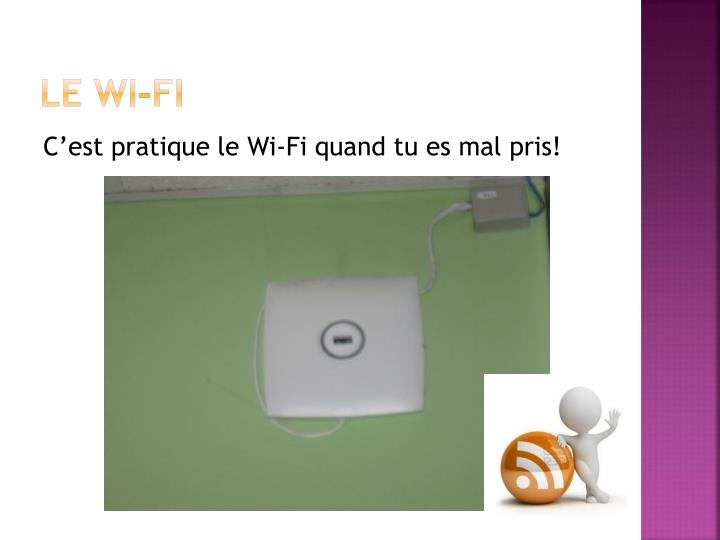 Le Wi-Fi