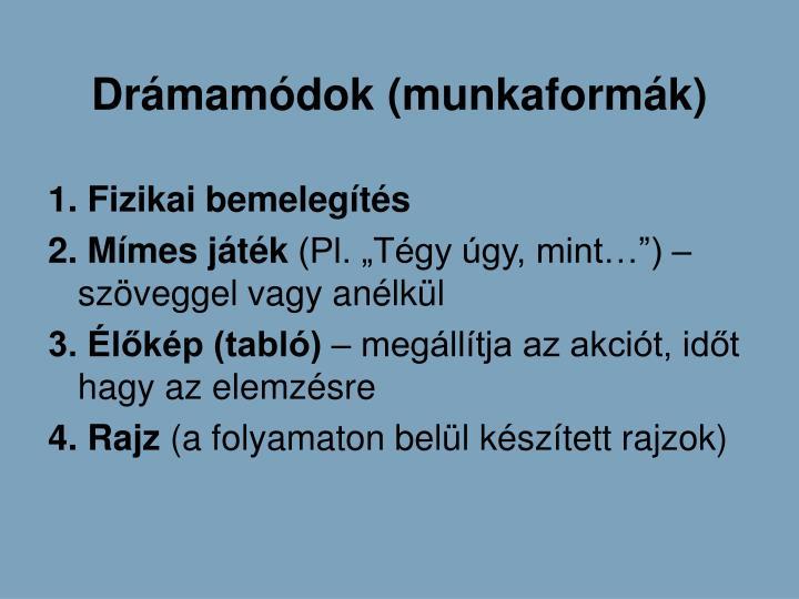 Drmamdok (munkaformk)
