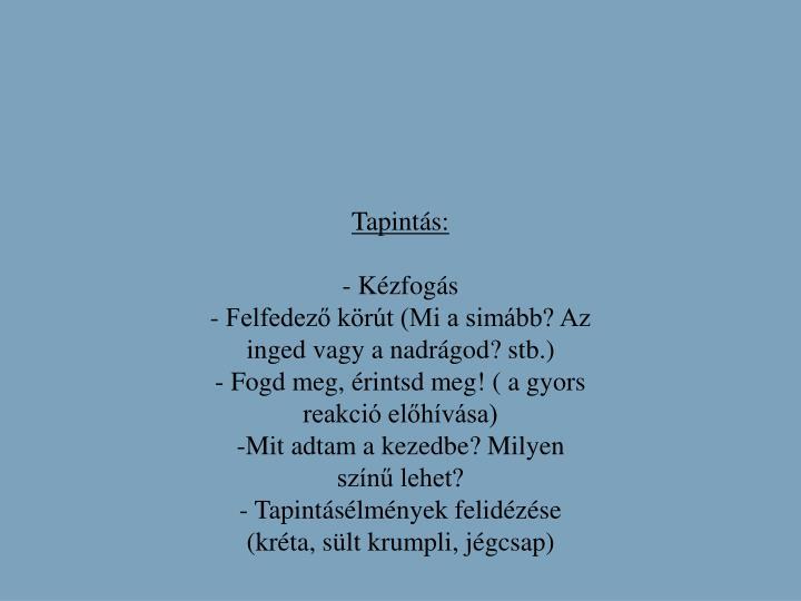 Tapints: