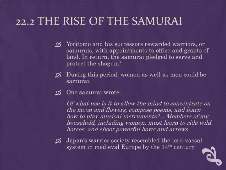22.2 The Rise of the Samurai