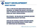 mact development8