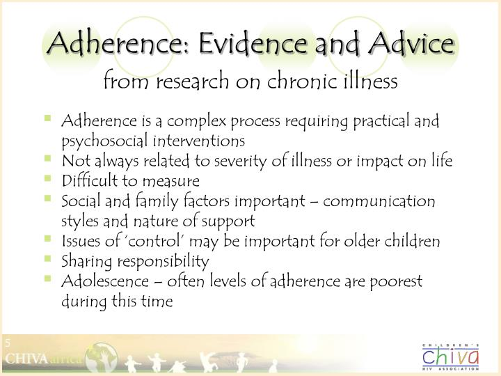 Adherence: Evidence and Advice