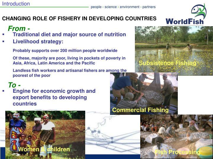 Subsistence Fishing