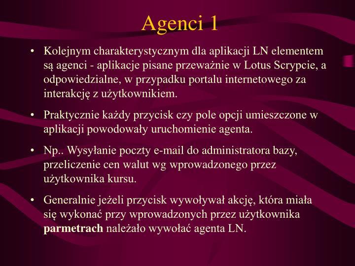 Agenci 1