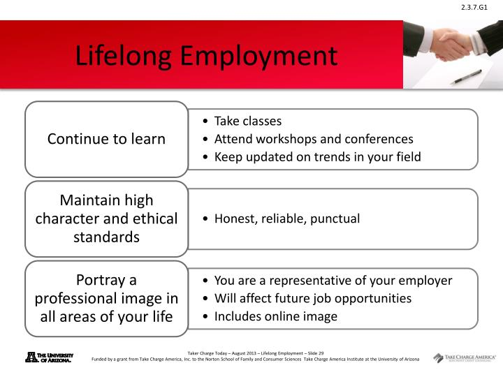 Lifelong Employment