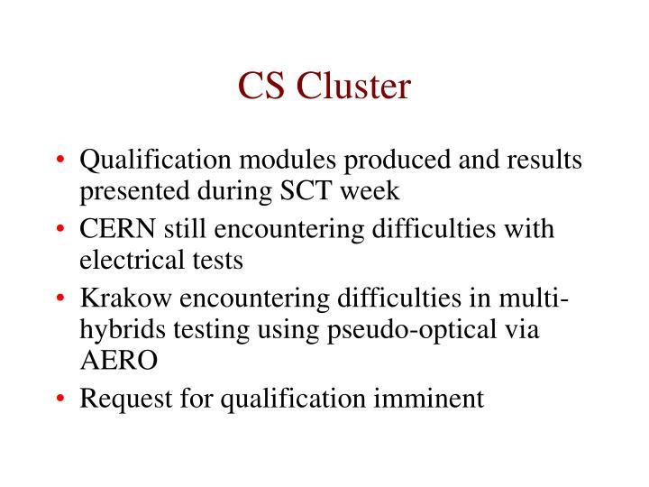 CS Cluster