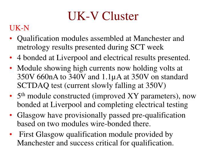 UK-V Cluster