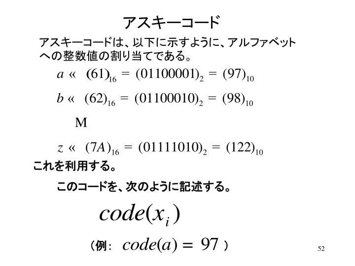 アスキーコード