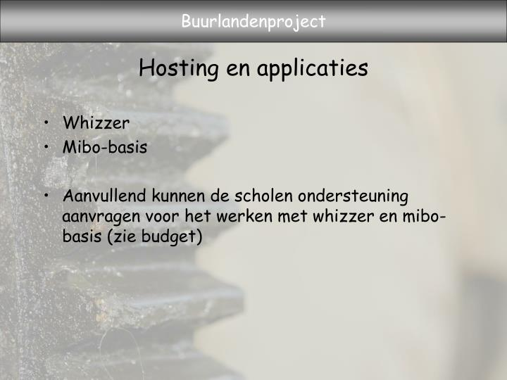 Hosting en applicaties