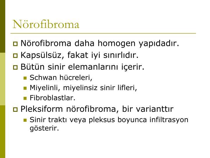 Nörofibroma