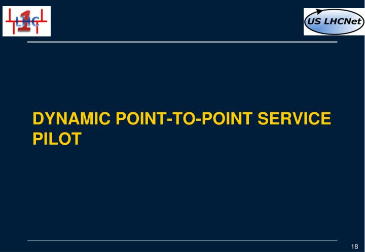 Dynamic Point-to-point service pilot