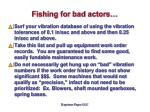 fishing for bad actors