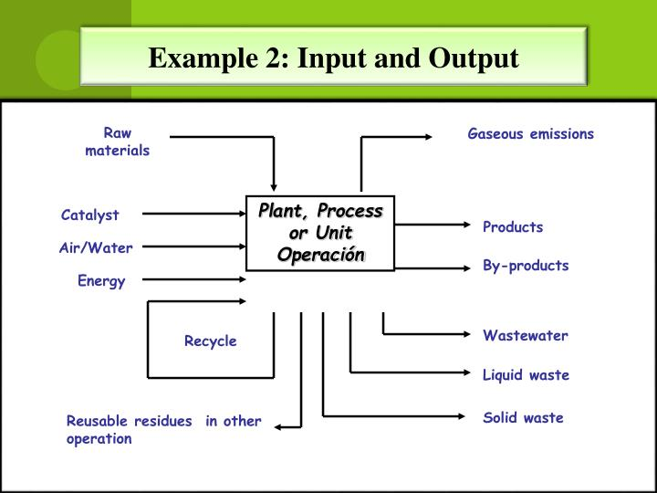 Example 2: Input and Output