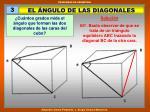 el ngulo de las diagonales
