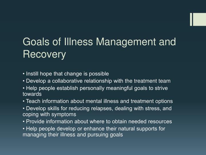 Goals of Illness