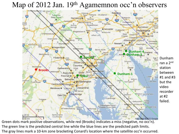 Map of 2012 Jan. 19