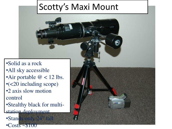 Scotty's Maxi Mount