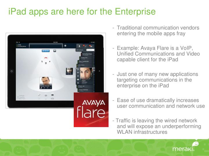 iPad apps are here for the Enterprise