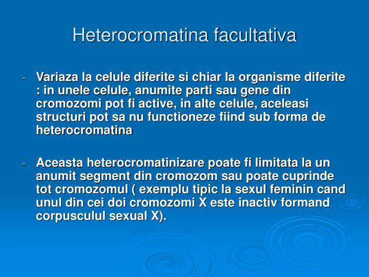 Heterocromatina facultativa