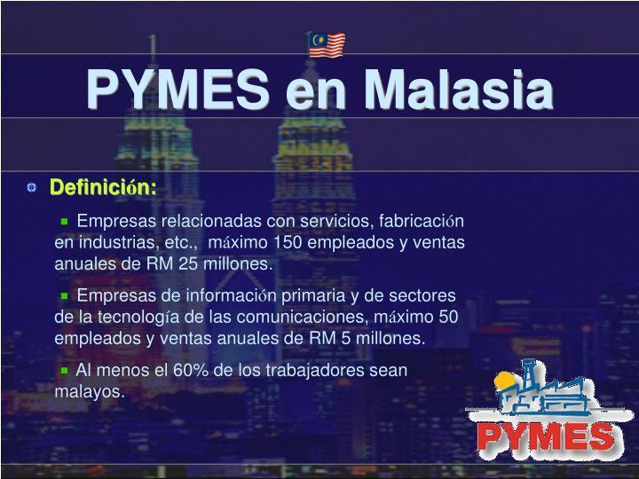 PYMES en Malasia