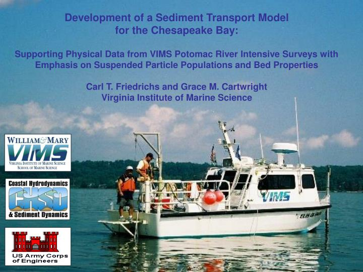 Development of a Sediment Transport Model