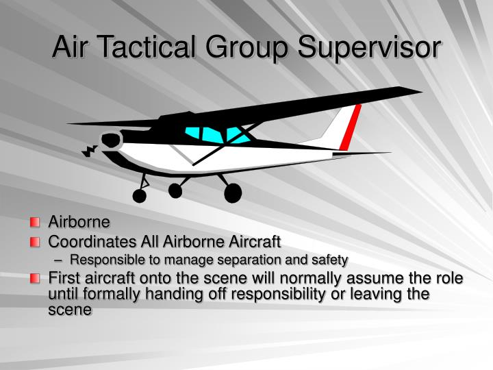 Air Tactical Group Supervisor