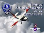 es aircrew 2009 update training