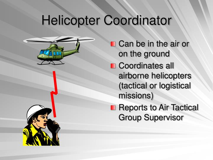 Helicopter Coordinator