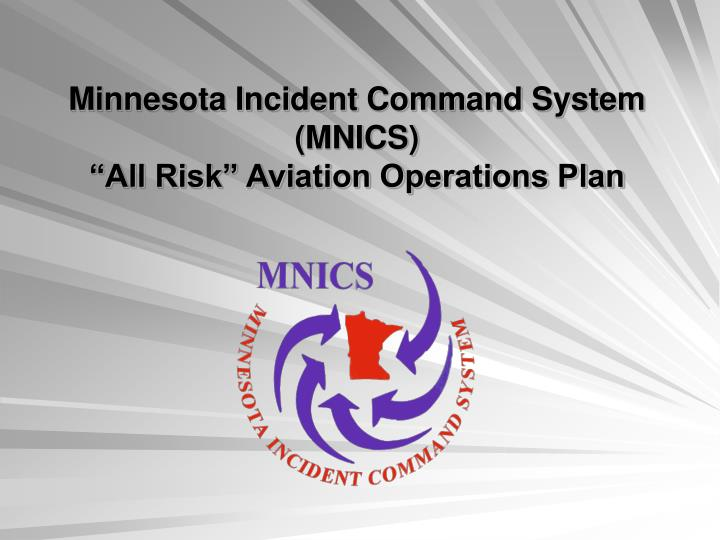 Minnesota Incident Command System