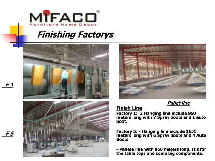 Finishing Factorys