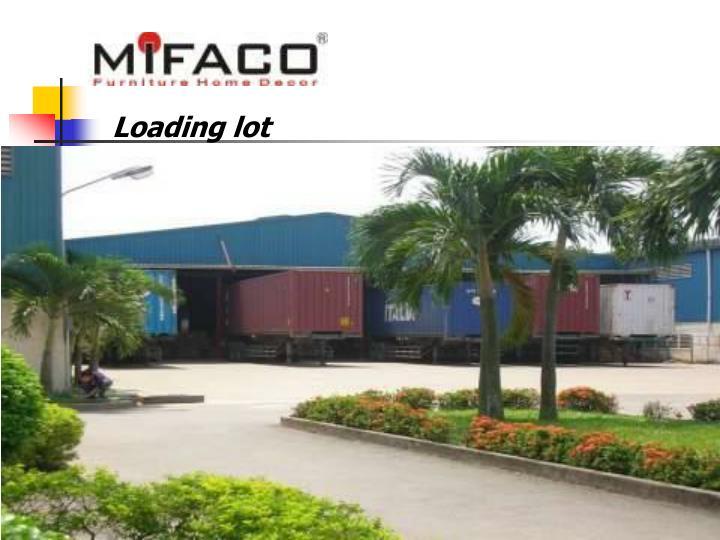 Loading lot