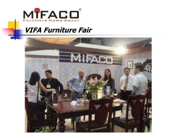VIFA Furniture Fair