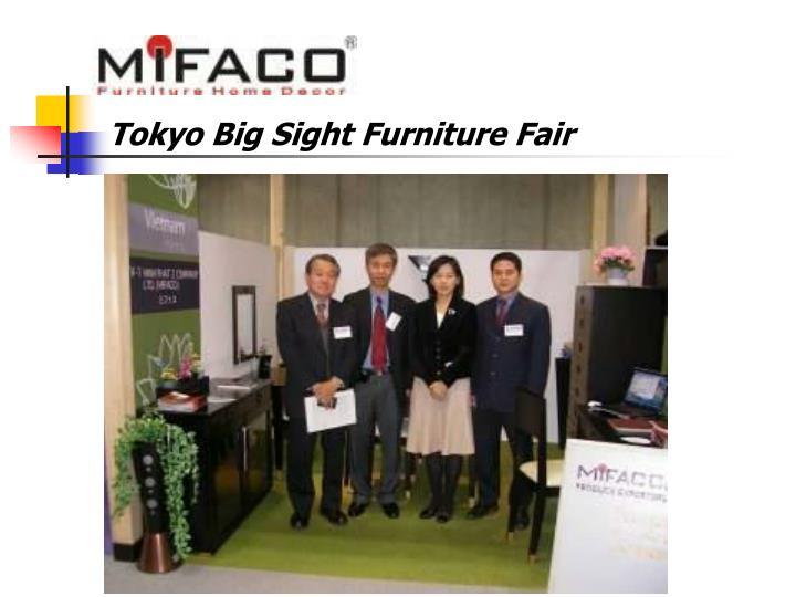 Tokyo Big Sight Furniture Fair