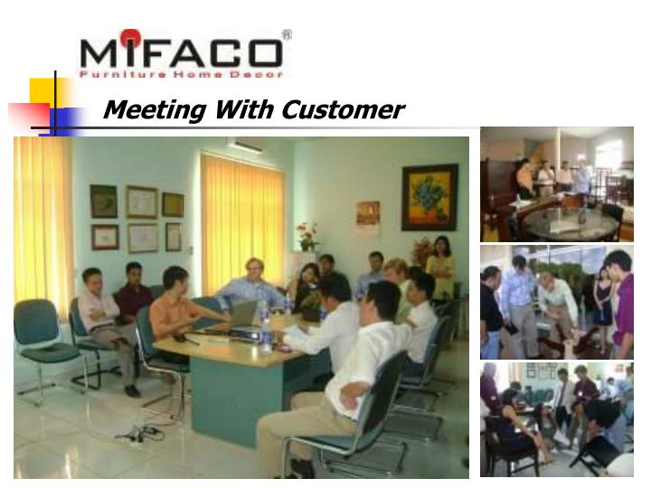 Meeting With Customer