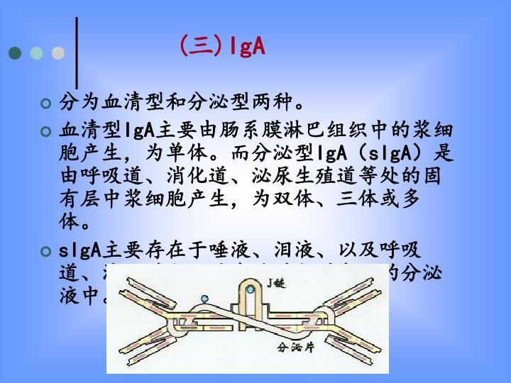 分为血清型和分泌型两种。