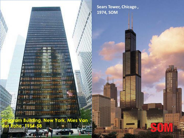 John Hancock tower, Chicago , 1965, SOM