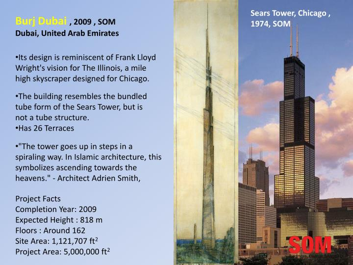 Sears Tower, Chicago , 1974, SOM