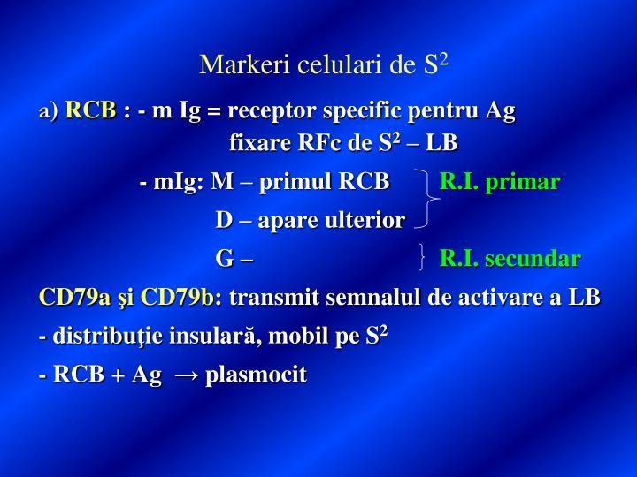 Markeri celulari de S