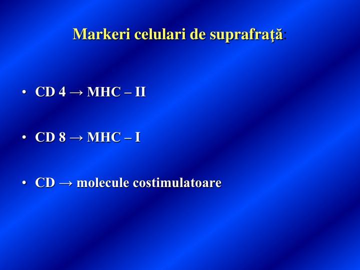 Markeri celulari de suprafra