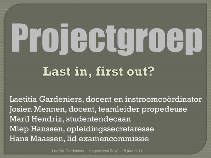 Projectgroep