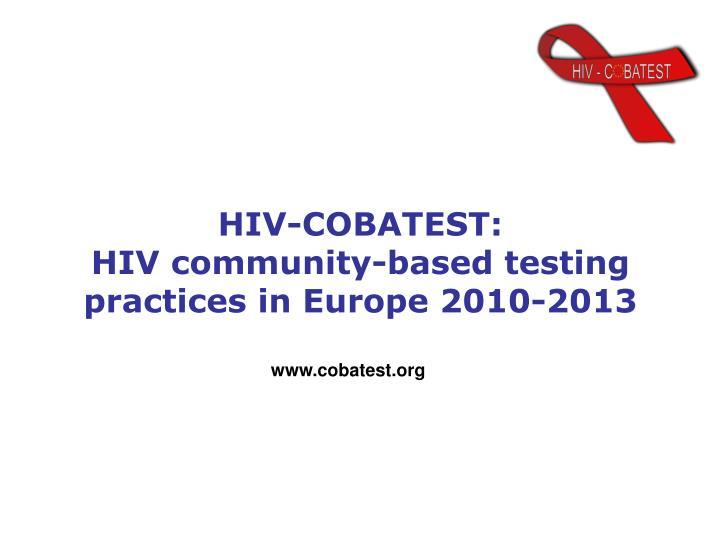 HIV-COBATEST: