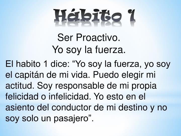 Hábito 1