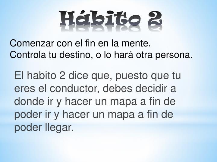 Hábito 2
